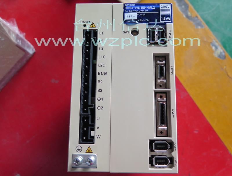二手欧姆龙伺服驱动器r88d-wn15h-ml2 台州信达