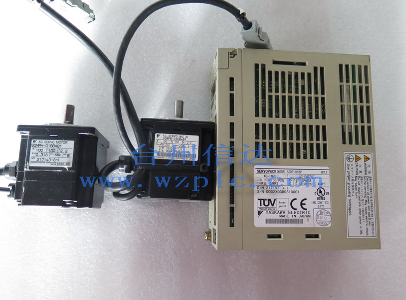 安川伺服电机sgmph-01bbab1 sgdp-01bp 台州信达